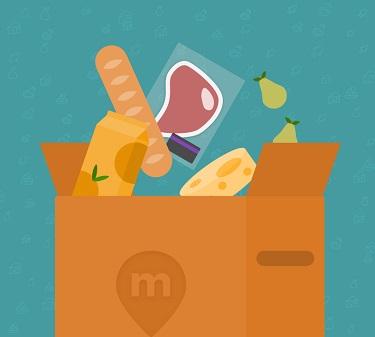 enviar comida por paqueteria